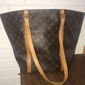 Authentic Louis Vuitton Sac Shopping GM Size Tote